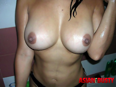 Their asian hanging tits can