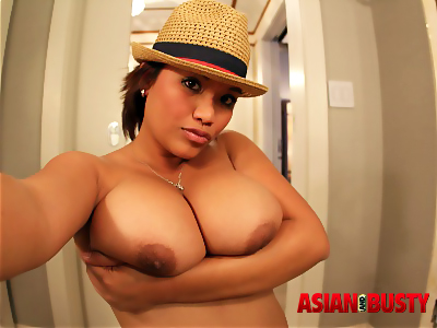 Busty Mia Rider Baring Big Asian Boobs