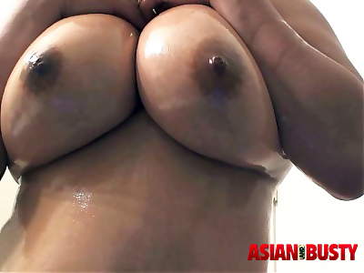 Big Titty Asian Loves Flashing Nice Tits